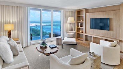 Ocean View Three Bedroom Suite With Balcony Miami South Beach Florida 1 Hotel South Beach