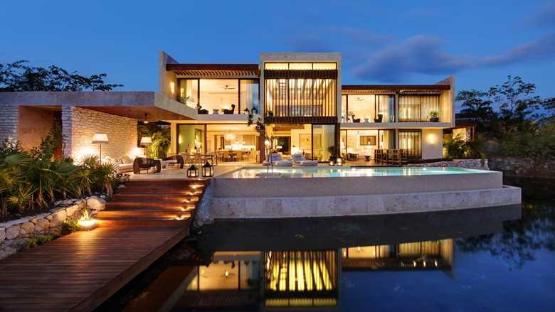 Riviera Maya Rosewood Mayakoba Luxury Vacation Coral Three Bedroom Villa