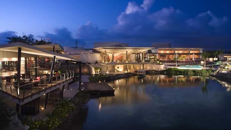 Riviera Maya Rosewood Mayakoba Luxury Vacation Resort Exterior