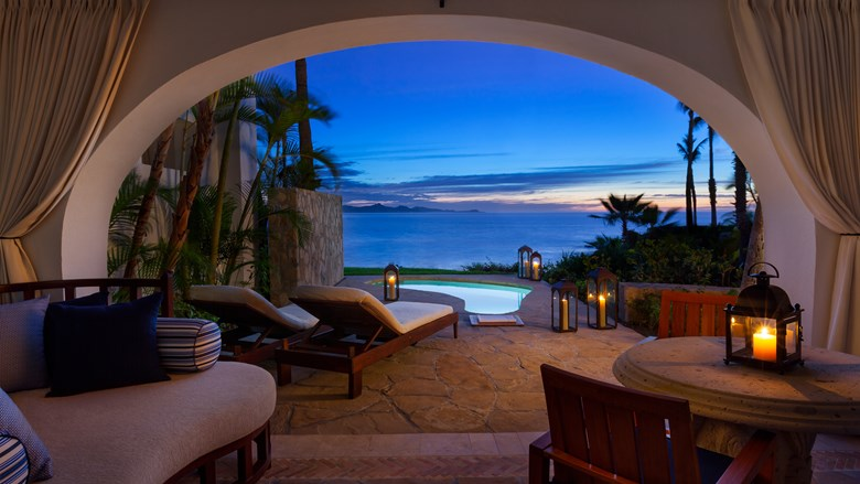 Los Cabos One and Only Palmilla Luxury Vacation Ocean Front Junior Suite with Plunge Pool Terrace