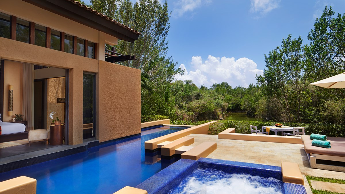 Serenity Pool Villa Banyan Tree Mayakoba