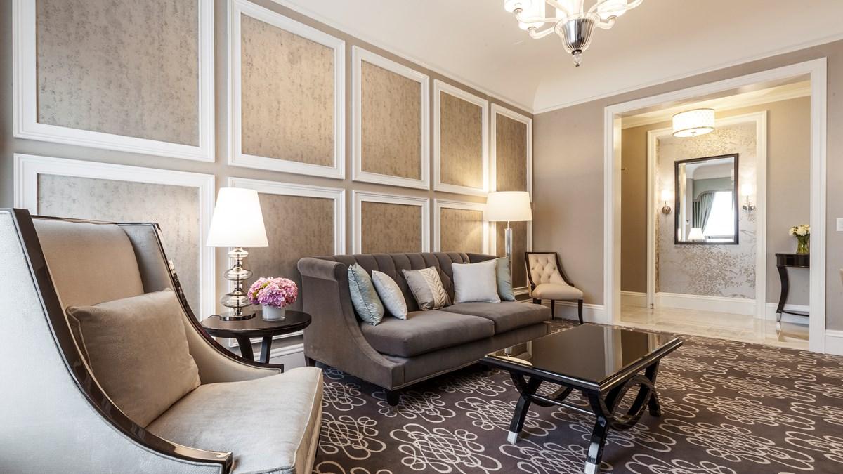 Napoleon two bedroom suite fairmont san francisco - Two bedroom suites san francisco ...