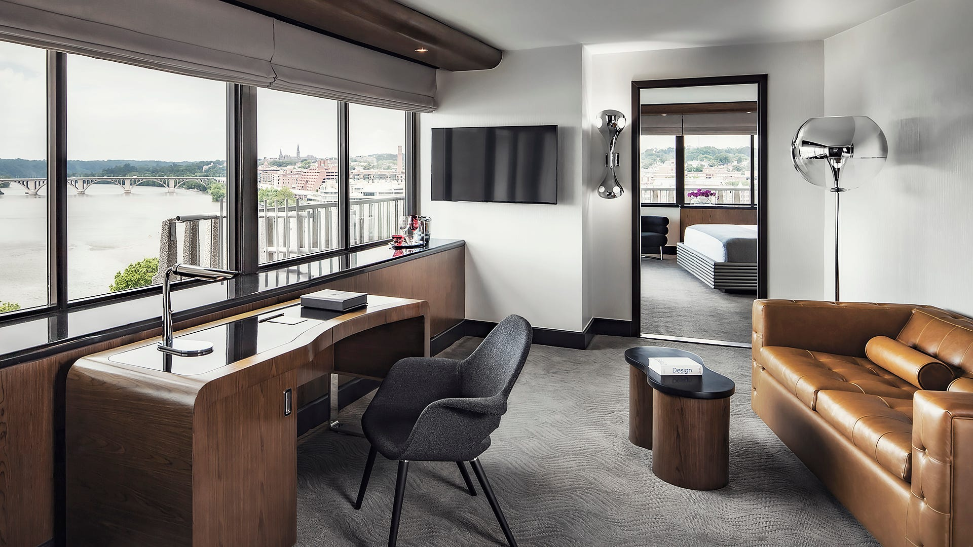 One bedroom balcony suite the watergate hotel - Washington dc suites hotels 2 bedroom ...